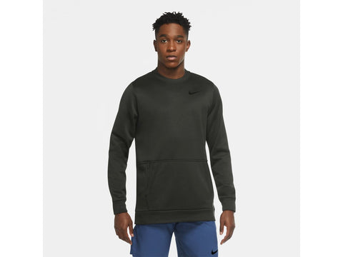 Nike Therma Fleece Mens Long Sleeve Crew