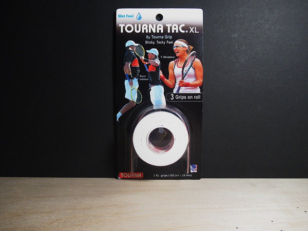 Tourna Grip TAC (Sticky feel)XL Overgrip Pack of 3