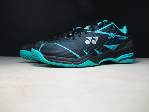 Yonex SHB 56 Mens Badminton Shoes Black/Mint