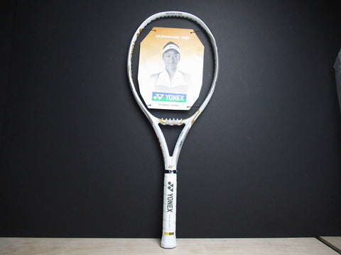 Yonex EZONE 100 (300g)Limited Edition Tennis Racket White/Gold