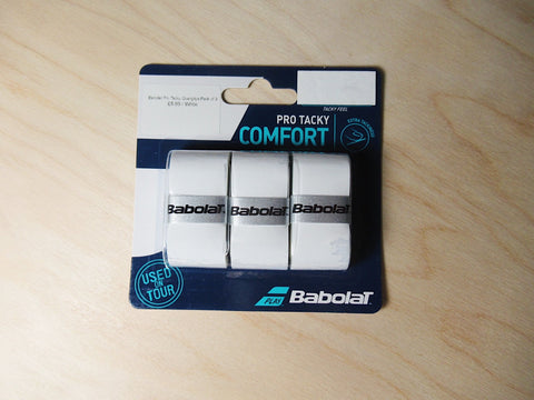 Babolat Pro Tacky Overgrips Pack of 3