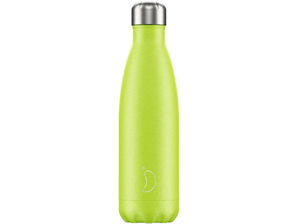 Chillys Bottle 500ml LEMON + LIME EDITION