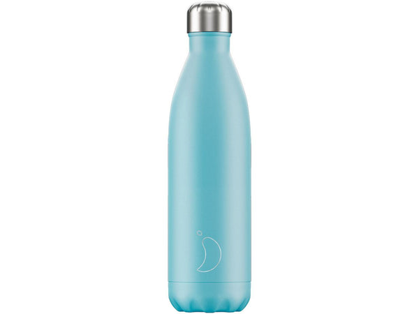 Chillys Bottle 750ml BLUE PASTEL EDITION