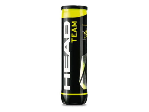 Head Team Tennis Balls (4 Ball Can)