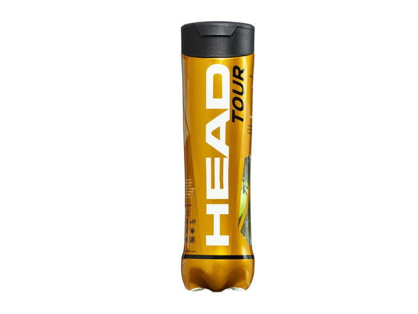 Head Tour Tennis Balls (4 Ball Can)