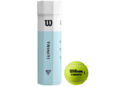 Wilson Triniti Tennis Balls 4 Ball Tube