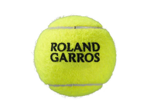 Wilson Roland Garros Clay Court Tennis Ball