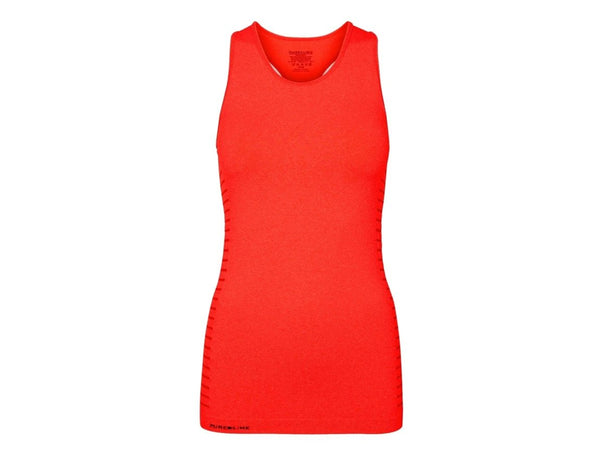 Pure Lime Seamless Tank Top Red