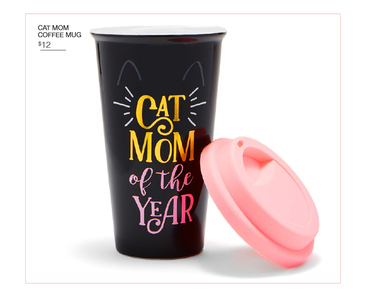 Cat Mom Travel Mug