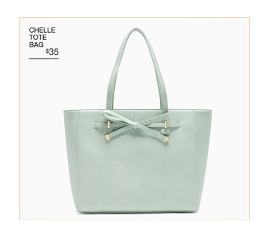 Chelle tote bag