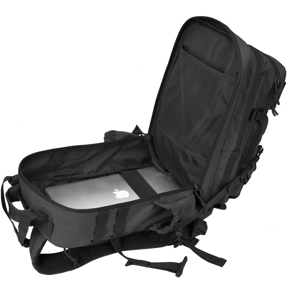 Assualt Backpack Black Gen II