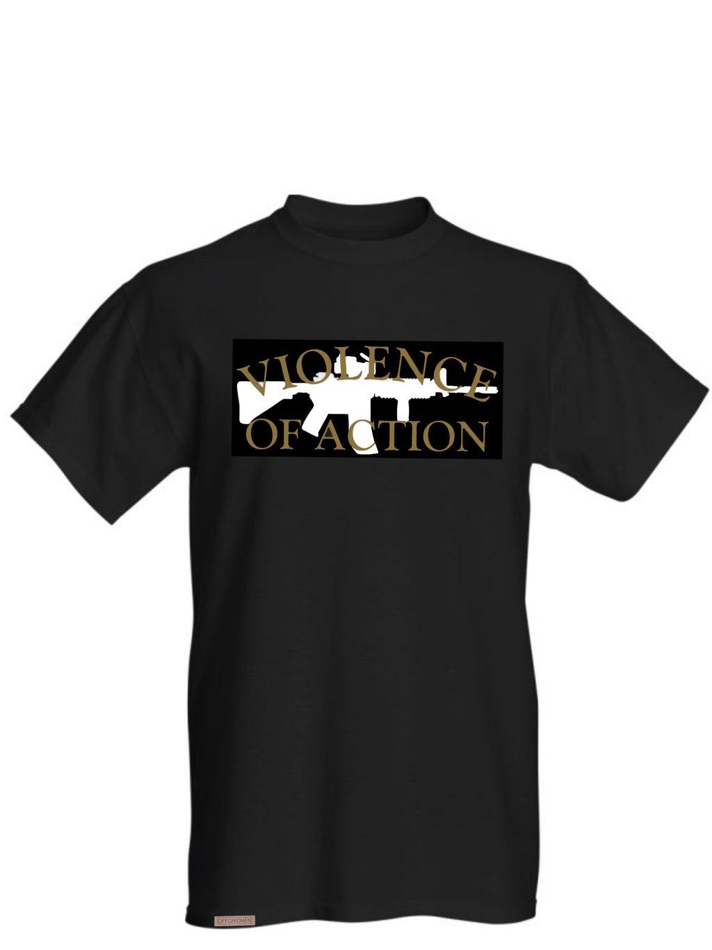violence of action tshirt offgridmen survival