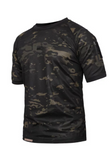 fast dry under shirt black camo mens tactical
