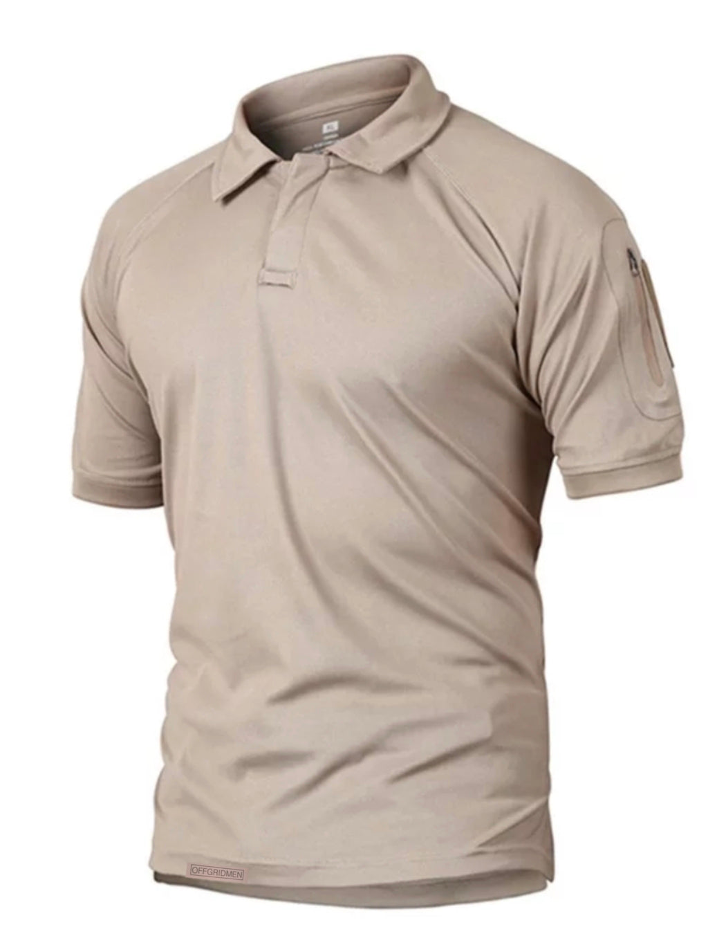 Mens collar style sand tactical shirt