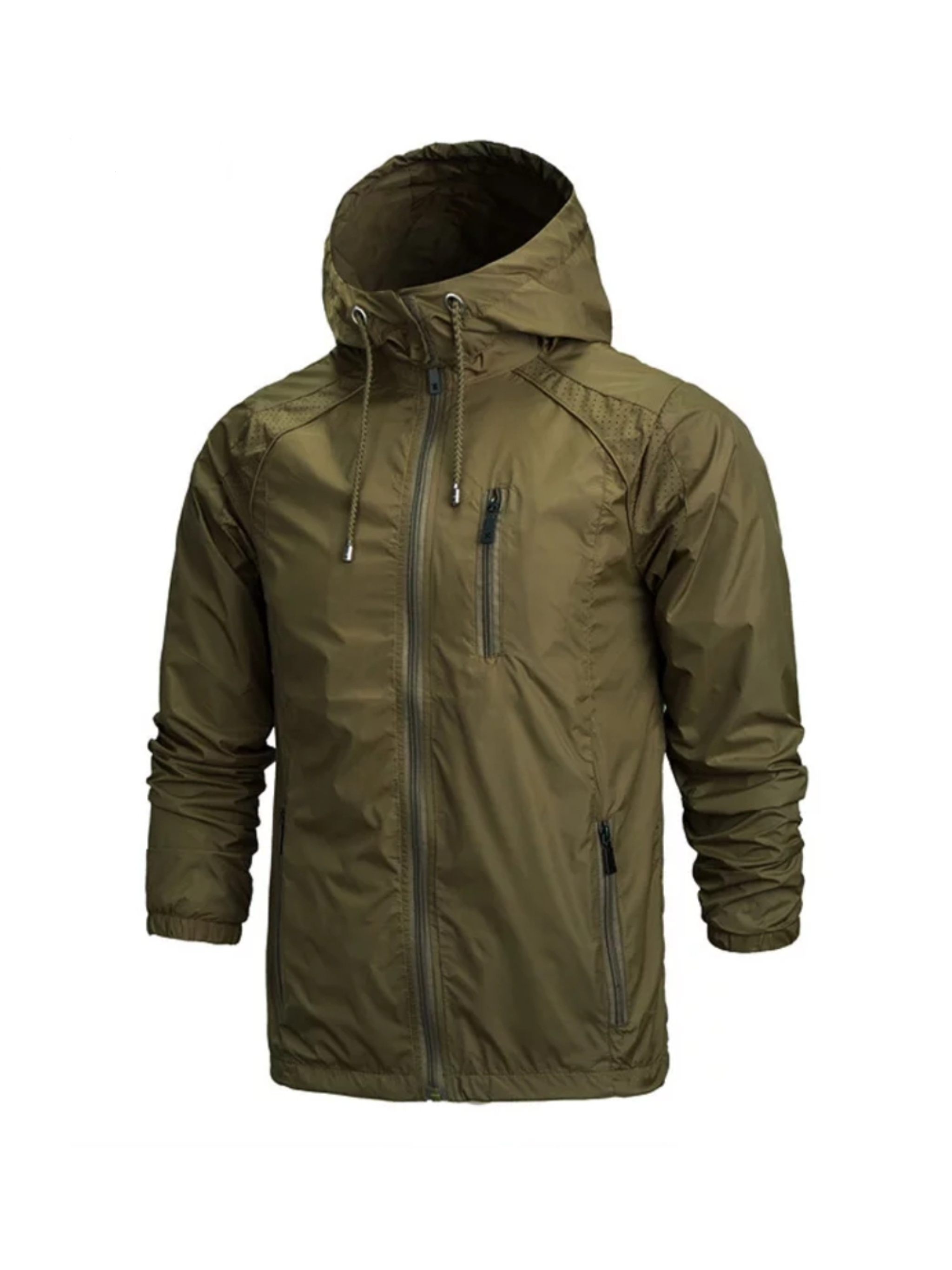 Rain Jacket Stay Dry Green