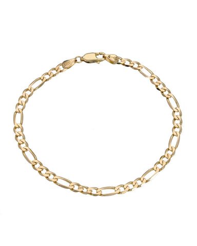 14K Gold Ladies Bracelet Weight 4.0g. Length 7 in Free US Shipping