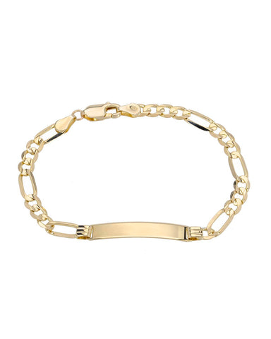 GOLDEN ARC JEWELRY 14K Gold Ladies Bracelet Weight 4.9g. Length 6.5 in