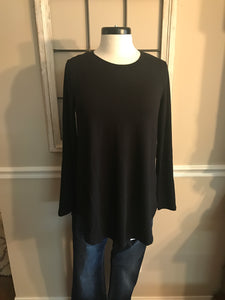 Plus premium fabric long sleeve top