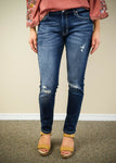 Kan Can Distressed Skinny Jean