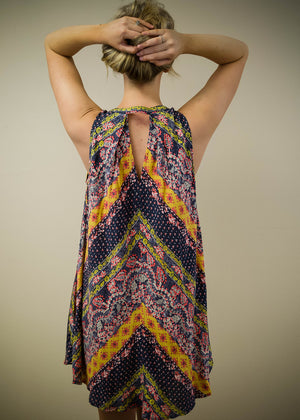 Printed Multi-Print Dress