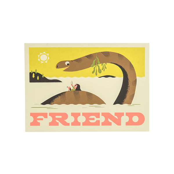 Friend - Screen Print