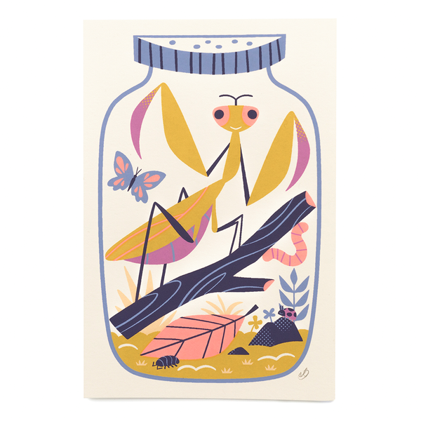 Jar O' Bugs - Screen Print
