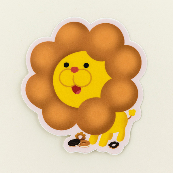 Pon De Lion - Sticker