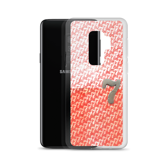 Number 7 Typographic Samsung Phone Case (7 No. 4)