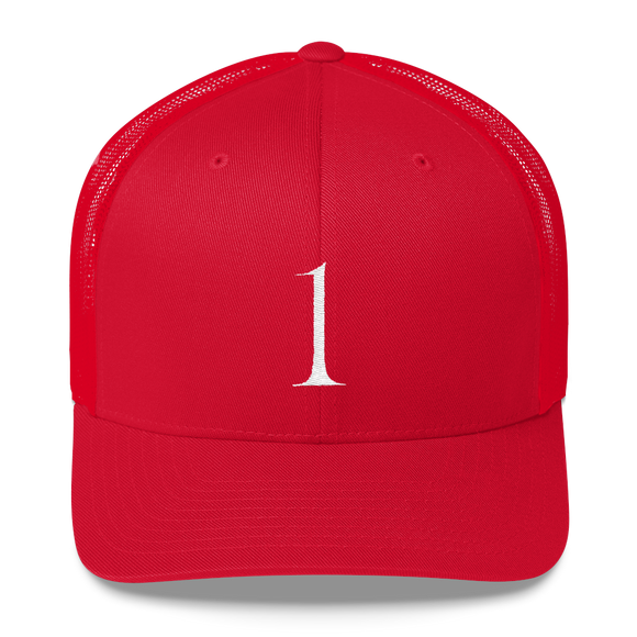 Number 1 Retro Trucker Cap (1 No. 9)