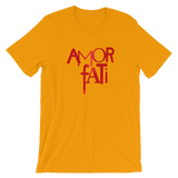 """AMOR FATI (LOVE OF FATE)"" Typographic T-Shirt (Pulp No. 10)"