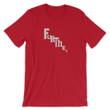 """FURTHER"" Typographic T-Shirt (Pulp No. 3)"