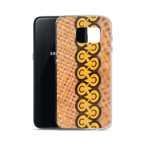 Letter C Typographic Samsung Phone Case (C No. 4)