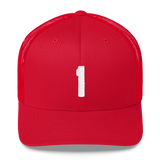Number 1 Retro Trucker Cap (1 No. 19)