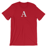 Letter A Typographic T-Shirt (A No. 37)