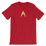 Letter A Typographic T-Shirt (A No. 1)