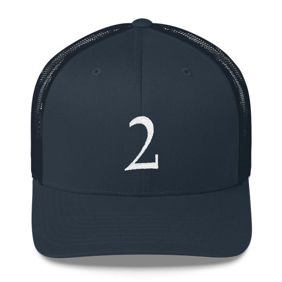 Number 2 Retro Trucker Cap (2 No. 7)