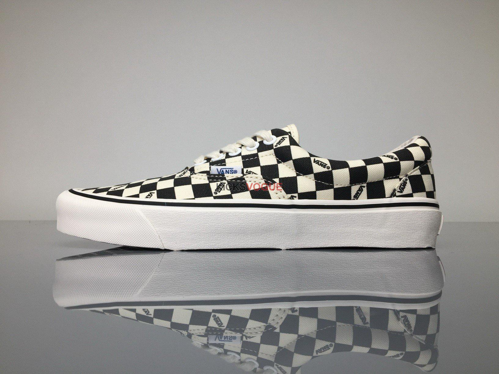 vans vault og era lx checkerboard slip on