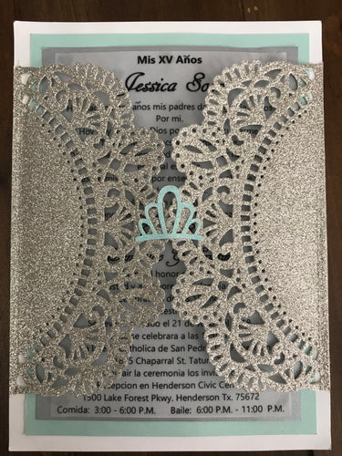 Quinceanera Invitation