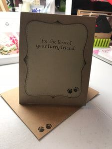 Pet and Animal Card