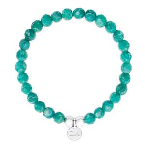Natural Amazonite Beaded Bracelet