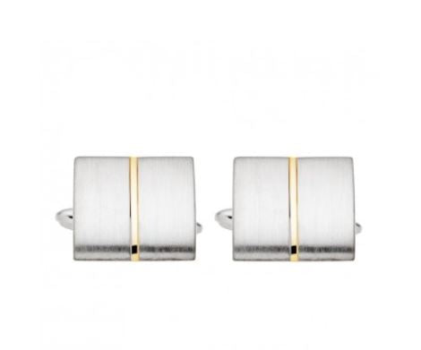 Rectangular 2tone Cufflinks