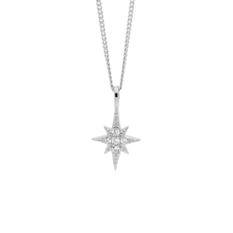 CZ Star Necklace