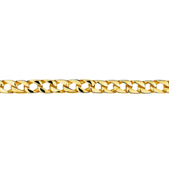 Mens YGP Stainless Steel Curb Chain