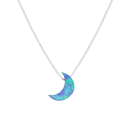 Opalite Blue Moon Necklace