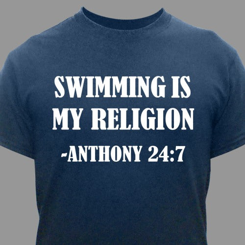 Personalized Religion T-shirt