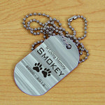 Personalized Pet Memorial Dog Tag - Tressa Gifts