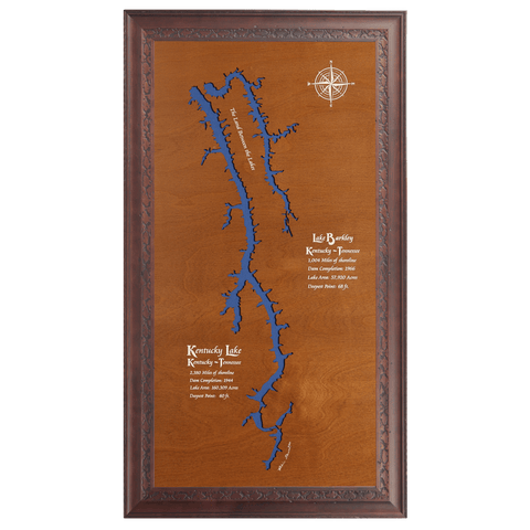 Kentucky Lake & Lake Barkley, Kentucky & Tennessee - Tressa Gifts