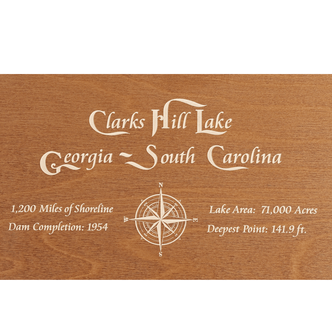 Clarks Hill Lake, Georgia & South Carolina - Tressa Gifts