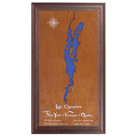 Lake Champlain, New York & Vermont - Tressa Gifts