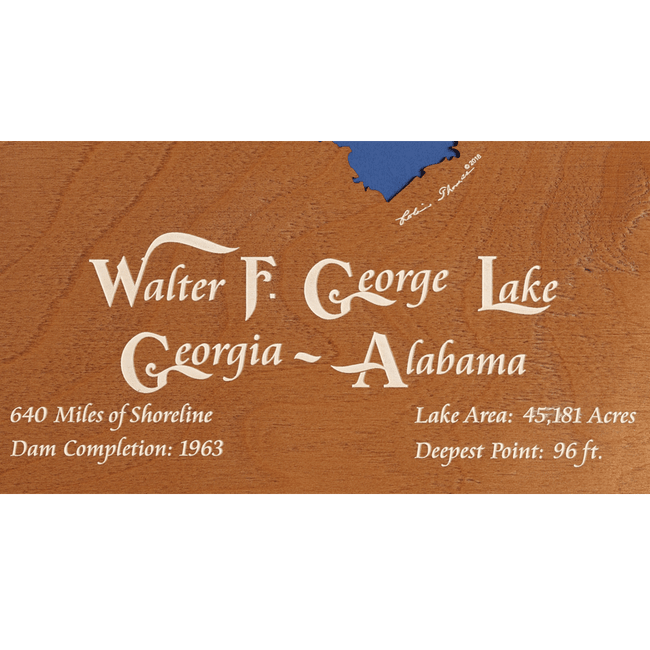 Walter F George Lake, Georgia & Alabama - Tressa Gifts